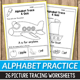 Alphabet Tracing Book -  Fine Motor Skills Activities