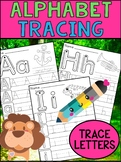 Alphabet Tracing Worksheets - SET ONE - Peppy Pencil