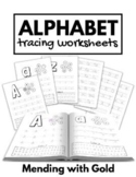Alphabet Tracing Worksheets | Tracing Alphabet Pages