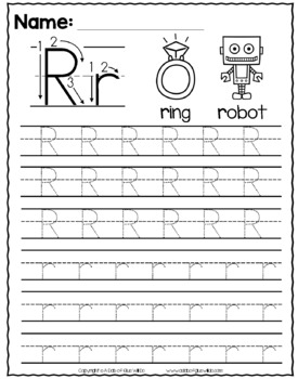 Alphabet Tracing and Handwriting Worksheets