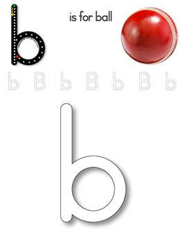 Alphabet Tracing and Play-dough Mats
