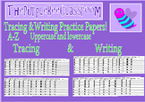 Alphabet Tracing and Writing Practice Pages