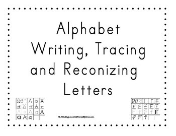 Alphabet Tracing and Writing Sheets