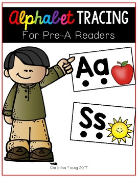 Alphabet Tracing for Pre-A Readers
