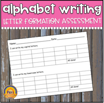 Alphabet Tracker by Pico's Passionate Readers | Teachers Pay