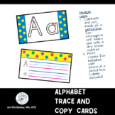 Alphabet Trade and Copy Cards for Pencil Box Work Tasks