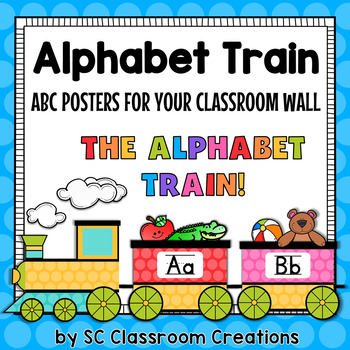 Alphabet Train ABC Posters