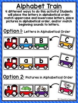 Alphabet Train Center