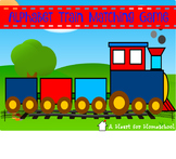Alphabet Train Matching Game