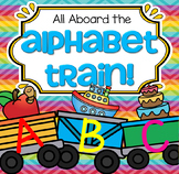 Alphabet Train Matching Upper and Lower Case, Beginning Sounds
