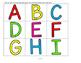 Alphabet Train Matching Upper and Lower Case, Beginning Sounds