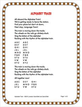 Alphabet Train & Number Train Song Bundle