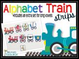 Alphabet Train Strips: Letter Sounds