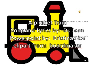 Alphabet Train based on Dr. Jeans song