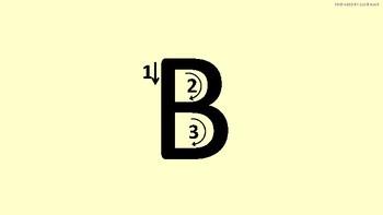 Alphabet Training Board & Tutor   Teach to Write Alphabets