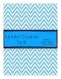 Alphabet Transition Cards