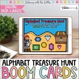 Alphabet Treasure Hunt BOOM Cards | Digital Task Cards | D