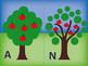 Alphabet Tree Letter Sorting