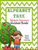 Alphabet Tree Worksheet Bundle