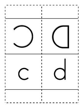 Alphabet Triangular Desk Display
