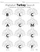 Alphabet Turkey Search- No Prep!