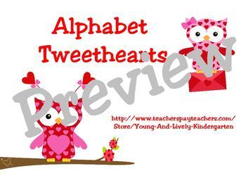 Alphabet Tweethearts