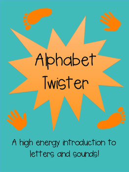 Alphabet Twister - Printable Game