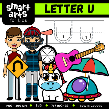 Alphabet U Clip Art