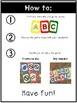 Alphabet UNO-inspired Cards