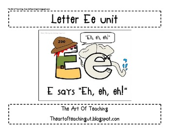 Alphabet Unit: Letter Ee and Magic E
