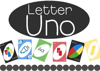 Alphabet Uno!