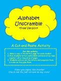 Alphabet Unscramble