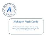 Alphabet Upper Case Flashcards
