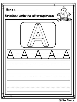 Alphabet Upper and Lower Case FREE
