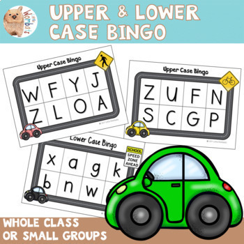 Alphabet - Upper and Lower Case Bingo - Great for Small Groups