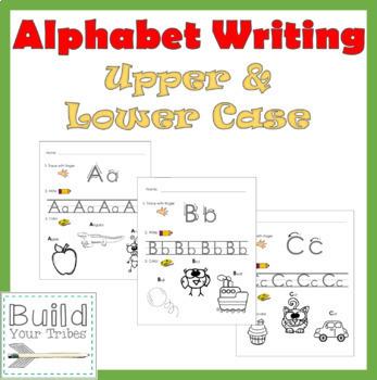Alphabet Upper and Lower Case Worksheets