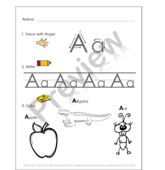 Alphabet Upper and Lower Case Worksheets