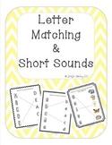 Alphabet Upper/Lowercase Letter Matching & Short Vowel Sou