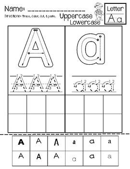 Alphabet Uppercase & Lowercase Matching