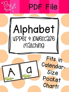 Alphabet Uppercase and Lowercase Match