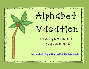 Alphabet Vacation
