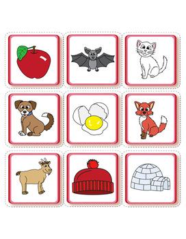 Alphabet - Valentine Bear Match