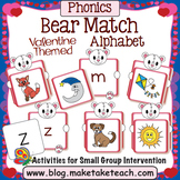 Alphabet - Valentine Bear Match