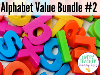 Alphabet Value Bundle #2: Letters N-Z, Letter of the Week, RTI