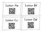 Alphabet Video QR Codes