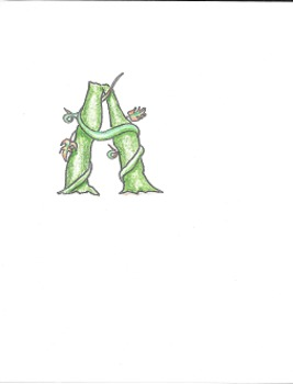 Alphabet - Jack and the Beanstalk Upper Case