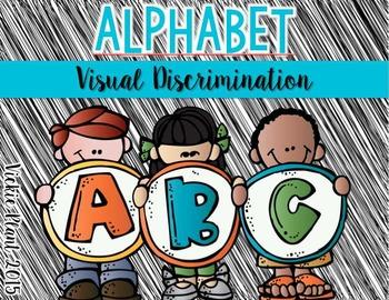 Alphabet Visual Discrimination