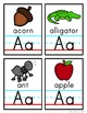 Alphabet Vocabulary Cards