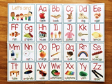 Alphabet Vocabulary Poster A-Z