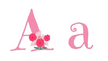 Alphabet & Vocabulary: Valentine Theme